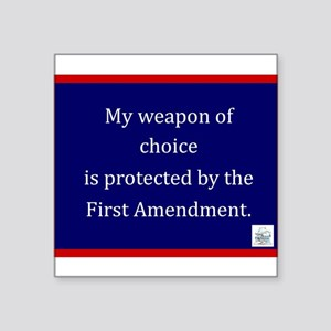 Ist Amendment Protection Sticker